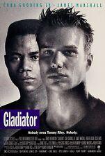 "GLADIATOR  - 27""x40"" Original Movie Poster One Sheet Cuba Gooding Jr.1992 Boxing"