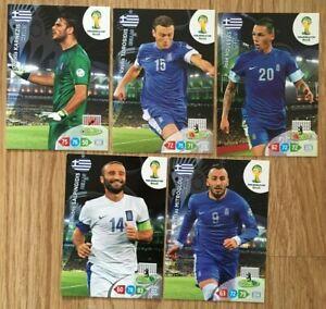 Panini Fifa World Cup 2014 Trading Cards - Hellas