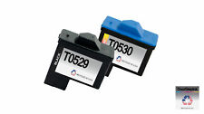 2 PK for Dell T0529 T0530 Series 1 Ink Cartridges for Photo All-In-One 720 A920