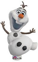 "41"" Disney Frozen Olaf Supershape Jumbo Mylar Foil Balloon Party Decorating Supp"