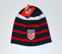 US Soccer Beanie Soccer USA Logo Gorro Gorra Pom  Knit Hat Cap Hat
