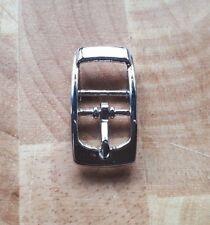 10 x Boucle en Métal Simple Prong Chaussure BKL//Sellier cuir Craft ceinture sangle 12 mm ~