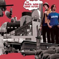 THE BLACK KEYS : RUBBER FACTORY  : 140 GRAM VINYL LP (BRAND NEW & SEALED)