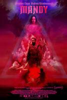 """Mandy Art Poster 48x32"""" 36x24 2018 Nicolas Cage Movie Film Print Silk"""