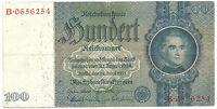 WW2 ORIGINAL NAZI Germany Third Reichs Banknote 100 Reichsmark 1935/B