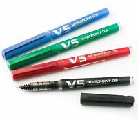 Pilot V5 Hi-Tecpoint Cartridge System Liquid Ink 0.5 Rollerball Pen