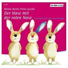 Schöne CD - Helme Heine - Der Hase mit der roten Nase. Geschichten & Lieder