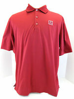 "Bugatchi Uomo Mens Med Short Sleeve Polo Shirt Egyptian Cotton ""M"" embroidered"