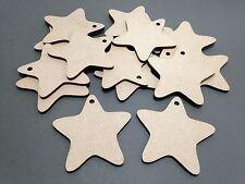 B3 50mm MDF Baby Star Laser Cut Wood Craft Shape Blank Embellishments Wholesale