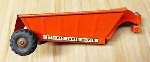 Vintage STRUCTO Toys Earth Mover All Mechanics Work Orange 1950s