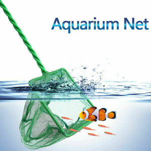 Fish Tank Aquarium Square Fishing Net- Cleaner,Catching For Smaller Size Fish