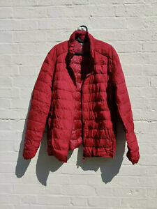 Uniqlo Ultra Light Red Down Jacket in XL
