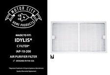 HEPA Air Purifier Idylis C Filter;Fits IAP-10-200, IAP-10-280 Model # IAF-H-100C