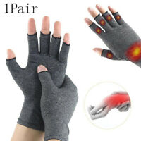1Pair Compression Arthritis Gloves Wrist Support Cotton Joint Pain Relief BraDD