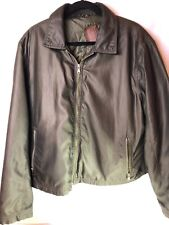 robert comstock Green Bomber Jacket Extra Large