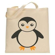 Penguin-Tote Bag-Gracioso Bolso De Compras-Cumpleaños Regalo De Navidad-Lindo Reutilizable