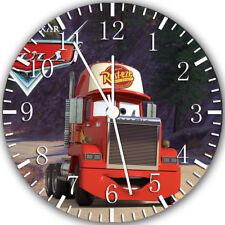 Disney Cars Mack Frameless Borderless Wall Clock Nice For Gifts or Decor X24