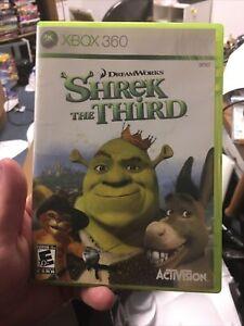 Shrek the Third (Microsoft Xbox 360, 2007) CIB