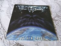 TESTAMENT. THE NEW ORDER. MEGAFORCE. 81849-1988. FIRST PRESSING.