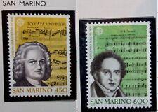 2 X Timbre Saint Marin San Marino 1985 YT 1107 1108 EUROPA CEPT Neufs