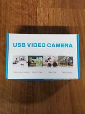 USB Video Camera - FULL HD 1080P Built in Stereo Mic Plug&Play Spiral Focus