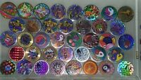 POG game Lot RETRO Metal Slammers Acrylic Pounders 90s stock WHOLESALE