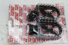 TURNER BILLET ALUMINUM FOOTPEGS BLACK YAMAHA YZ85/125 YZ250 YZ250F/450F MFP-1511