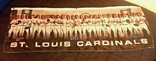 St Louis Cardinals 2011 Team Nylon Wall Banner Collectors Coke