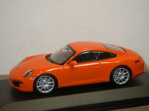 Porsche 911 991 Carrera S 2012 - Maxichamps 1:43 in Box *37009