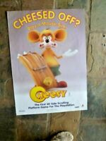 CHEESED OFF  PLAYSTATION  GAME PROMO  POSTER 69X50CM