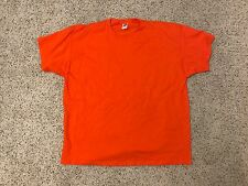 New Orange 3XL HD Cotton Fruit of the Loom T-Shirt Quick Ship *Quantity*