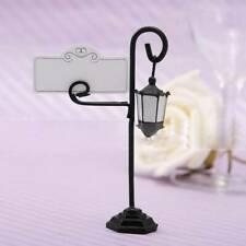 1pc Wedding Favors Place Card Holder Table Photo Memo Number Name Clips Base