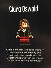 NEW LEGO 21304 Clara Oswald NEVER ASSEMBLED From Doctor Who Exclusive Dr. Who