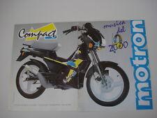 advertising Pubblicità 1989 MOTRON COMPACT