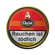 Pfeifentabak Orlik Golden Sliced Flake 100g Dose  zitrusorange Flakestreifen