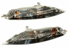 NEW BMW E63 645Ci 650i M6 Set Of 2 Turn Signal Lights with White Lens Marelli