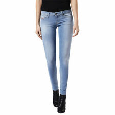 DIESEL SKINZEE LOW 084CR Womens Denim Jeans Cotton Super Skinny Fit Faded Blue