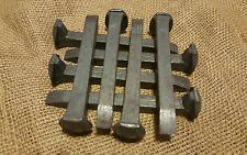 8 NEW Railroad Spikes Blacksmith Knife maker Blade smith, Forge Anvil Nails