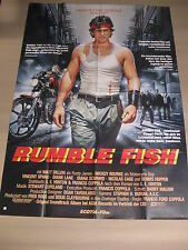 RUMBLE FISH - DinA0 XXL Poster Plakat - Francis Ford Coppola Mickey Rourke