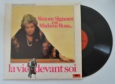 la vie devant soi lp soundtrack  simone signoret   french import     vg+/m-