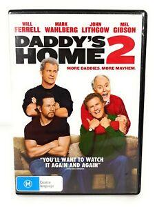 Daddy's Home 2: More Daddies, More Mayhem (DVD, 2017) Mark Wahlberg R4 Free Post