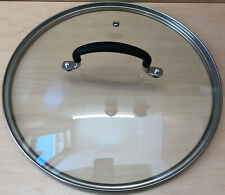 """New listing Tempered Glass Lid Clear 12"""""""