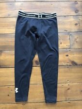 Underarmour Cold Gear Leggings Size Large Youth Black Full Length Kids