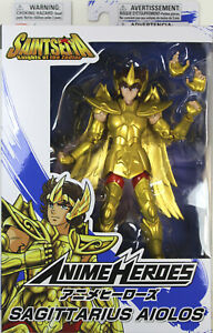 Anime Heroes ~ SAGITTARIUS AIOLOS Figure ~ Saint Seiya: Knights of the Zodiac