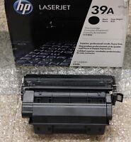 GENUINE NEW HP Q1339A 39A laserjet TONER CARTRIDGE 4300