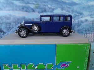 1/43 Eligor (France)   Rolls Royce 1928 20/25 limousine
