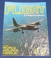 FLIGHT INTERNATIONAL OCTOBER 21 1971 - WORLD AIRLINER CENSUS