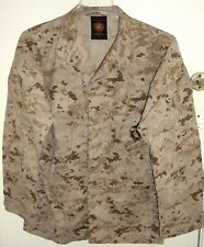 USMC US Marine Corps Desert MARPAT Digital Camo MCCUU Jacket Medium Long M/L