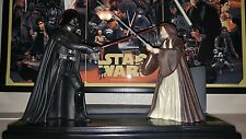 SIDESHOW CIRCLE IS NOW COMPLETE DARTH VADER Vs OBI-WAN KENOBI STATUE STAR WARS