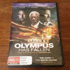 Olympus Has Fallen DVD R4 Like New! FREE POST Gerrard Butler